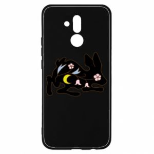 Etui na Huawei Mate 20 Lite Rabbit with flowers