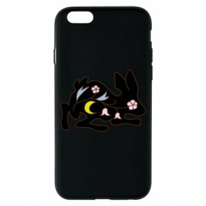 Etui na iPhone 6/6S Rabbit with flowers
