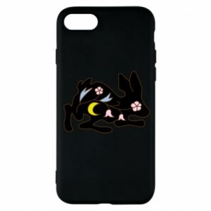Etui na iPhone 7 Rabbit with flowers