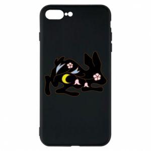 Etui do iPhone 7 Plus Rabbit with flowers