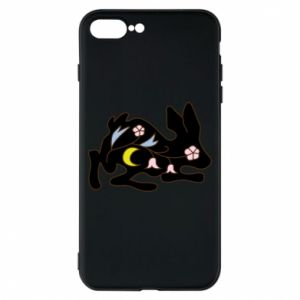 Etui na iPhone 8 Plus Rabbit with flowers