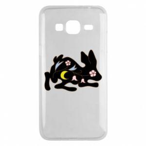 Etui na Samsung J3 2016 Rabbit with flowers