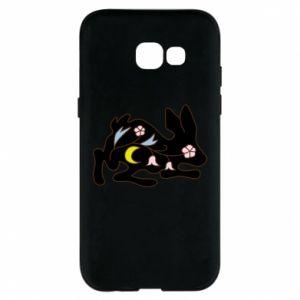 Etui na Samsung A5 2017 Rabbit with flowers