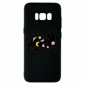 Etui na Samsung S8 Rabbit with flowers