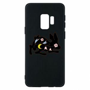 Etui na Samsung S9 Rabbit with flowers