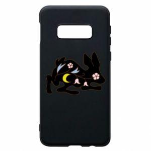 Etui na Samsung S10e Rabbit with flowers