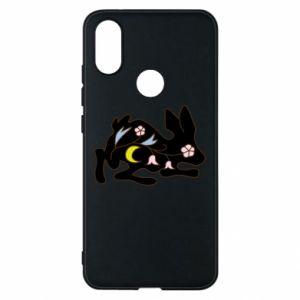 Etui na Xiaomi Mi A2 Rabbit with flowers