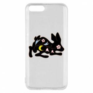 Etui na Xiaomi Mi6 Rabbit with flowers