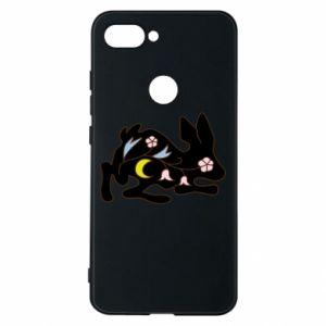 Etui na Xiaomi Mi8 Lite Rabbit with flowers