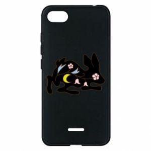 Etui na Xiaomi Redmi 6A Rabbit with flowers