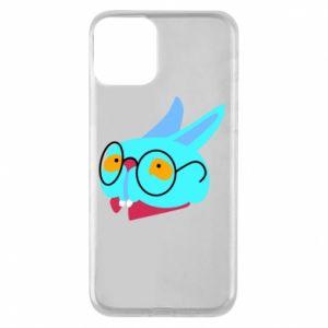Etui na iPhone 11 Rabbit with glasses