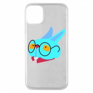 Etui na iPhone 11 Pro Rabbit with glasses