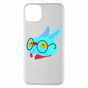 Etui na iPhone 11 Pro Max Rabbit with glasses