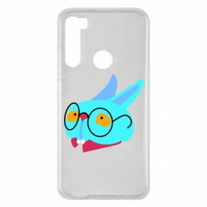 Xiaomi Redmi Note 8 Case Rabbit with glasses