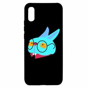 Etui na Xiaomi Redmi 9a Rabbit with glasses