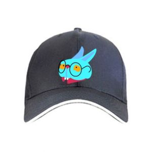 Cap Rabbit with glasses - PrintSalon