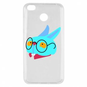 Etui na Xiaomi Redmi 4X Rabbit with glasses