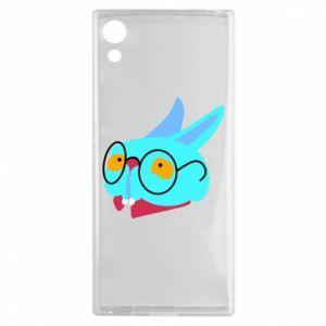 Etui na Sony Xperia XA1 Rabbit with glasses