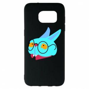 Etui na Samsung S7 EDGE Rabbit with glasses