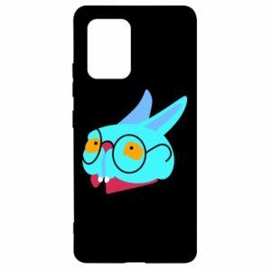 Etui na Samsung S10 Lite Rabbit with glasses