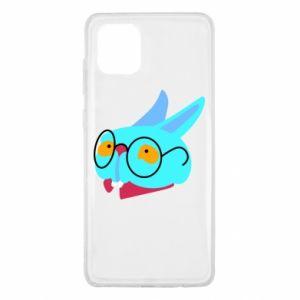 Etui na Samsung Note 10 Lite Rabbit with glasses
