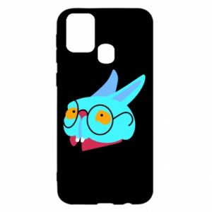 Etui na Samsung M31 Rabbit with glasses