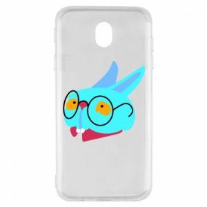 Etui na Samsung J7 2017 Rabbit with glasses