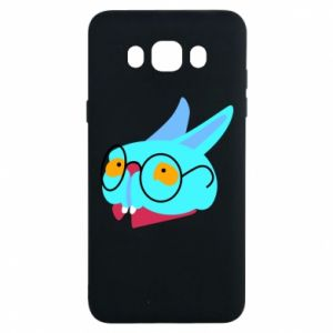 Etui na Samsung J7 2016 Rabbit with glasses
