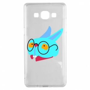 Etui na Samsung A5 2015 Rabbit with glasses