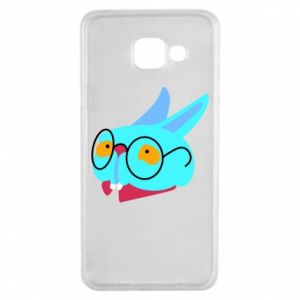 Etui na Samsung A3 2016 Rabbit with glasses