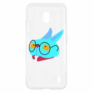 Etui na Nokia 2.2 Rabbit with glasses