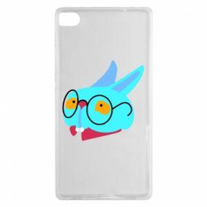 Etui na Huawei P8 Rabbit with glasses