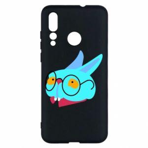 Etui na Huawei Nova 4 Rabbit with glasses