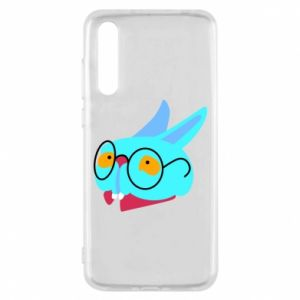 Etui na Huawei P20 Pro Rabbit with glasses