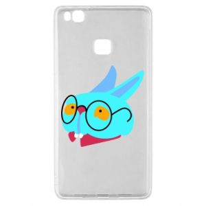 Etui na Huawei P9 Lite Rabbit with glasses