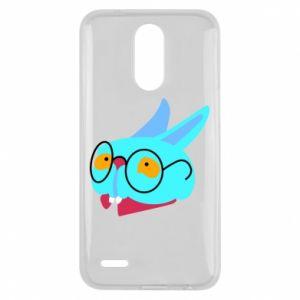 Etui na Lg K10 2017 Rabbit with glasses