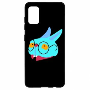 Etui na Samsung A41 Rabbit with glasses