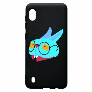 Etui na Samsung A10 Rabbit with glasses