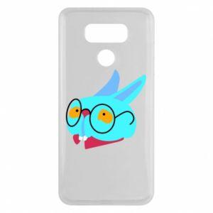 Etui na LG G6 Rabbit with glasses