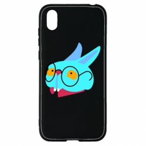 Etui na Huawei Y5 2019 Rabbit with glasses