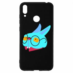 Etui na Huawei Y7 2019 Rabbit with glasses