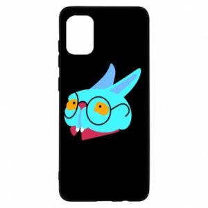 Etui na Samsung A31 Rabbit with glasses