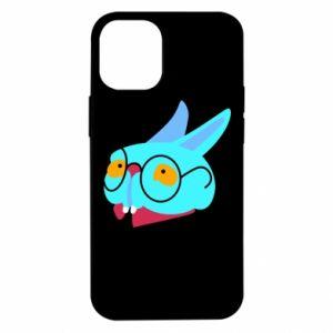 Etui na iPhone 12 Mini Rabbit with glasses