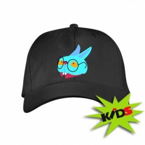 Kids' cap Rabbit with glasses - PrintSalon