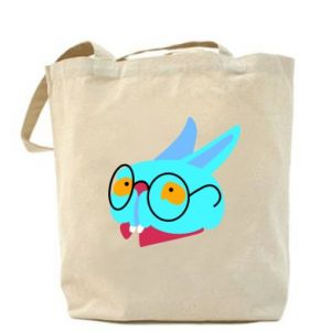 Bag Rabbit with glasses - PrintSalon