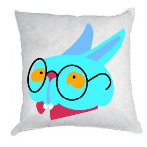 Poduszka Rabbit with glasses