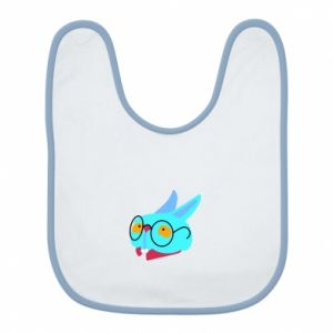 Bib Rabbit with glasses - PrintSalon