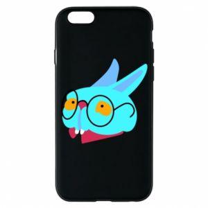 Etui na iPhone 6/6S Rabbit with glasses