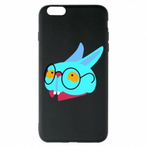 Phone case for iPhone 6 Plus/6S Plus Rabbit with glasses - PrintSalon