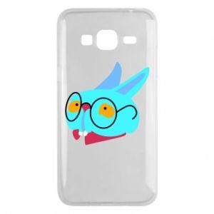 Etui na Samsung J3 2016 Rabbit with glasses